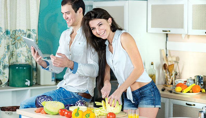 cooking with your partner
