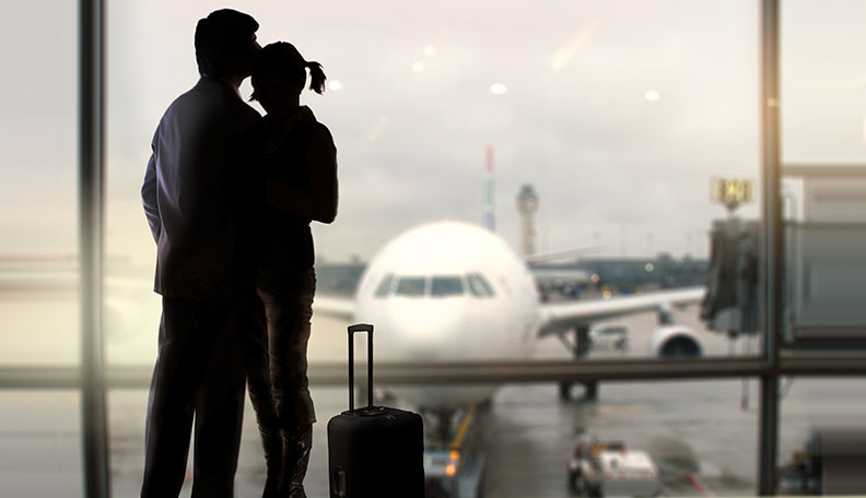 dating someone who travels a lot