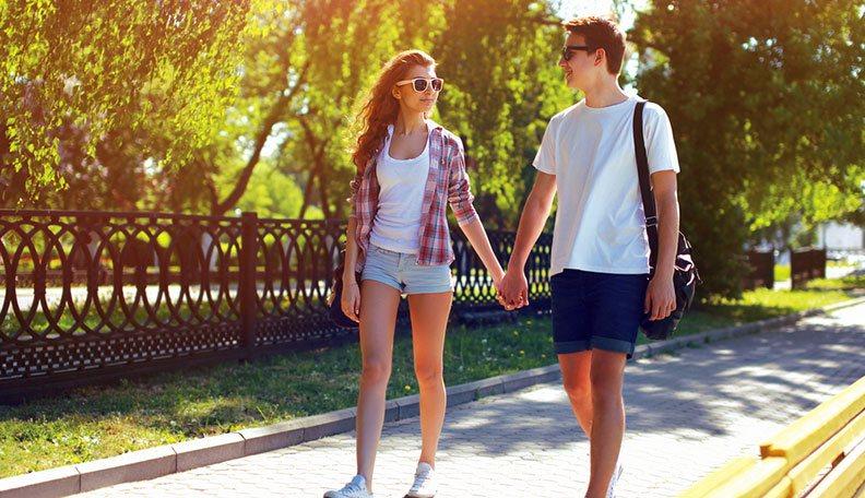 flirting as teens