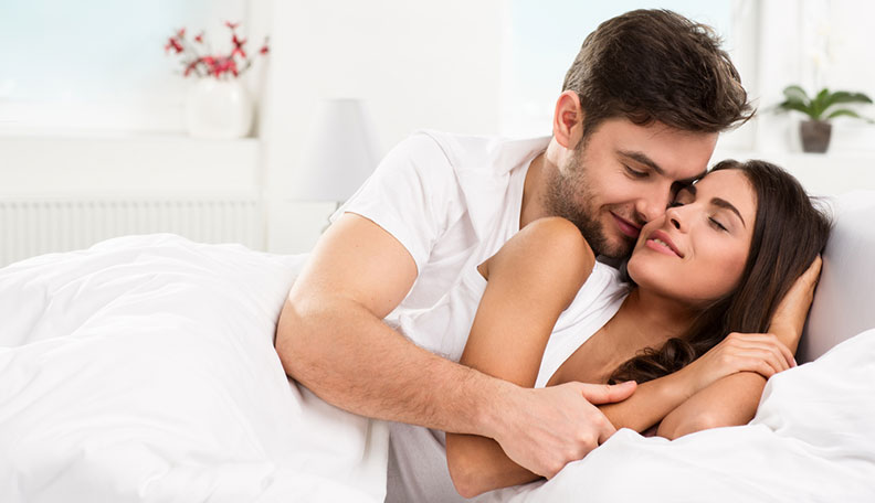 how to look good in bed for men