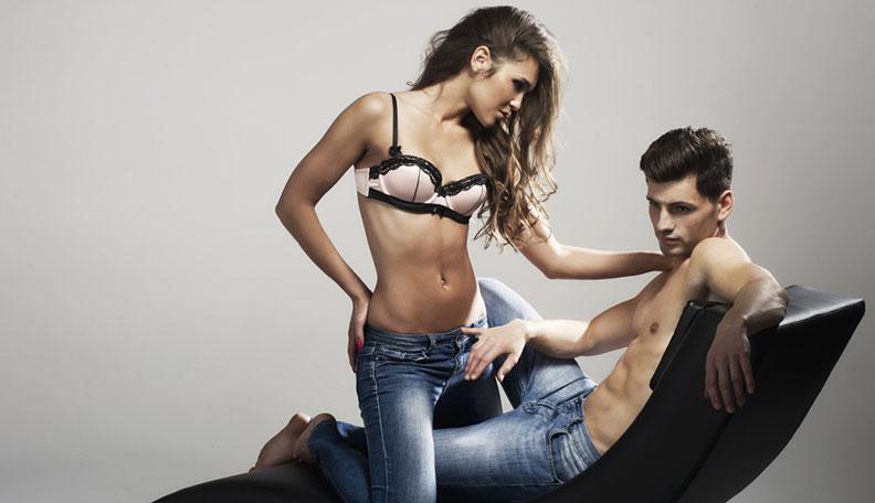 Model Lap Dance